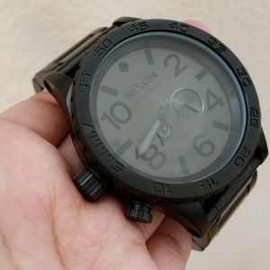 Nixon unisex black watch